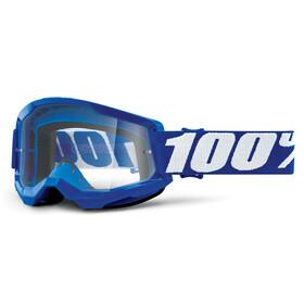 100% Strata Anti-Fog Goggles Gen2, niebieski